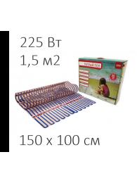 Теплый пол из аморфной ленты СТН ТЕПЛЫЙ ПОЛ СТН - CITY HEAT 150 Вт/кв м, 1,5х1 м