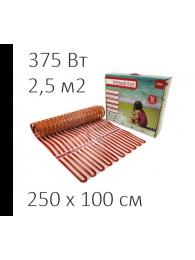 Теплый пол из аморфной ленты СТН ТЕПЛЫЙ ПОЛ СТН - CITY HEAT 150 Вт/кв м, 2,5х1 м