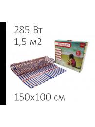 Теплый пол из аморфной ленты СТН ТЕПЛЫЙ ПОЛ СТН - VILLAGE HEAT 190 Вт/кв м, 1,5х1 м