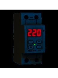 Реле напряжения DIGITOP VP-3F40A (max 50 A) РЕЛЕ НАПРЯЖЕНИЯ RBUZ ZUBR D2-63 RED
