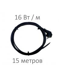DECKER (Декер) САМОРЕГУЛИРУЮЩИЙСЯ ГРЕЮЩИЙ КАБЕЛЬ TMPRO SRL-16 (16 Вт/м, 15 м)