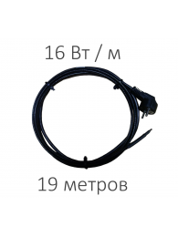 DECKER (Декер) САМОРЕГУЛИРУЮЩИЙСЯ ГРЕЮЩИЙ КАБЕЛЬ TMPRO SRL-16 (16 Вт/м, 19 м)