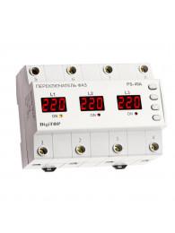 Переключатели фаз ПЕРЕКЛЮЧАТЕЛЬ ФАЗ DIGITOP PS-40A (max 50 A)