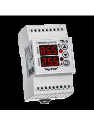 Терморегуляторы для электрических котлов ТЕРМОРЕГУЛЯТОР DIGITOP ТК-5 (4,5 А, 3 ВТ)