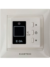 Терморегуляторы для водяного теплого пола ТЕРМОРЕГУЛЯТОР EASTEC E-34 (16 А, 3,5 кВт)