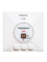 Для теплого пола ТЕРМОРЕГУЛЯТОР EASTEC E-36 (27 А, 6 кВт)