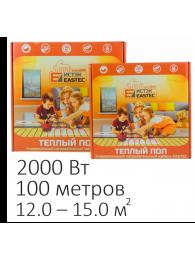 Теплые полы в плиточный клей КАБЕЛЬ НАГРЕВАТЕЛЬНЫЙ EASTEC ECC-2000 (2000 Вт, 100 м)