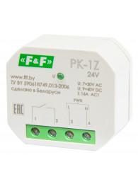 Промежуточное реле РЕЛЕ ПРОМЕЖУТОЧНОЕ PK-1Z-24 (24 В, 16 А)
