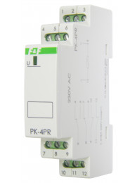 Промежуточное реле РЕЛЕ ПРОМЕЖУТОЧНОЕ PK-4PR (12, 24, 48, 110 или 220 В; 4x8 А)