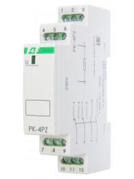 Промежуточное реле РЕЛЕ ПРОМЕЖУТОЧНОЕ PK-4PZ (12, 24, 48, 110 или 220 В; 4x8 А)
