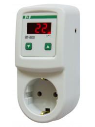 Терморегуляторы для инфракрасных панелей и конвекторов ТЕРМОРЕГУЛЯТОР RT-800M (2 кВт, 16 А)