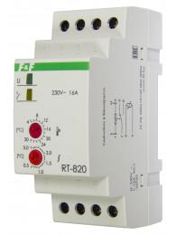 Терморегуляторы для инфракрасных панелей и конвекторов ТЕРМОРЕГУЛЯТОР RT-820 (2 кВт, 16 А)