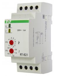 Терморегуляторы для инфракрасных панелей и конвекторов ТЕРМОРЕГУЛЯТОР RT-821 (2 кВт, 16 А)