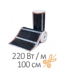Heat Plus (Хит Плюс) КОМПЛЕКТ ИНФРАКРАСНОЙ ПЛЕНКИ HEAT PLUS (220 Вт / 100 см), цена за пог м