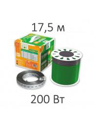 Теплые полы в плиточный клей КАБЕЛЬ НАГРЕВАТЕЛЬНЫЙ GREEN BOX (200 Вт, 17,5 пм)