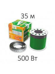 Теплые полы в плиточный клей КАБЕЛЬ НАГРЕВАТЕЛЬНЫЙ GREEN BOX (500 Вт, 35 пм)