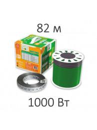 Теплые полы в плиточный клей КАБЕЛЬ НАГРЕВАТЕЛЬНЫЙ GREEN BOX (1000 Вт, 82 пм)
