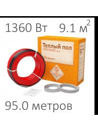 Teploluxe (Теплолюкс) КАБЕЛЬ НАГРЕВАТЕЛЬНЫЙ WARMSTAD WSS (1360 Вт, 95 пм)
