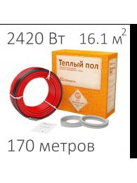 Teploluxe (Теплолюкс) КАБЕЛЬ НАГРЕВАТЕЛЬНЫЙ WARMSTAD WSS (2420 Вт, 170 пм)