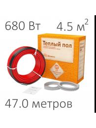 Teploluxe (Теплолюкс) КАБЕЛЬ НАГРЕВАТЕЛЬНЫЙ WARMSTAD WSS (680 Вт, 47 пм)