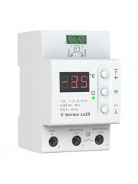 Терморегуляторы для систем антиобледенения и снеготаяния ТЕРМОРЕГУЛЯТОР TERNEO SN 32 A (32 А, 7 КВТ)