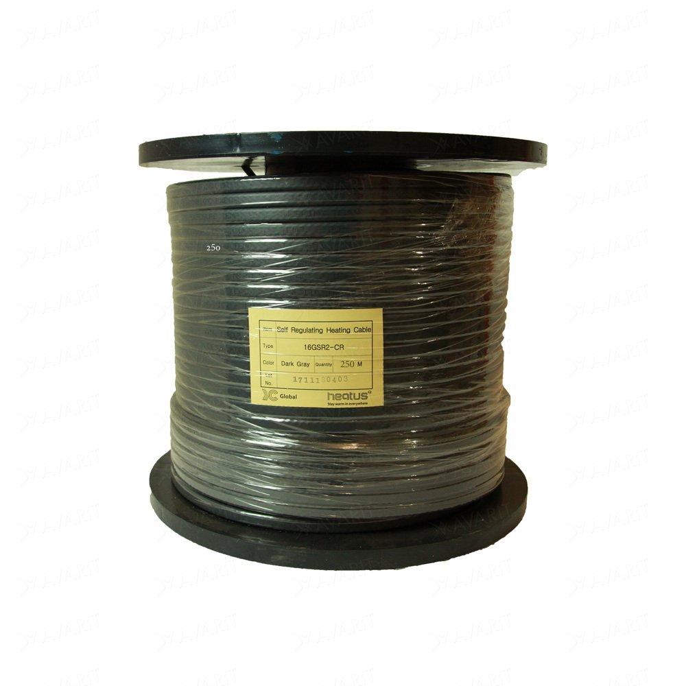 Саморегулирующий греющий кабель Heatus 16GSR2-CR (16 Вт/м)