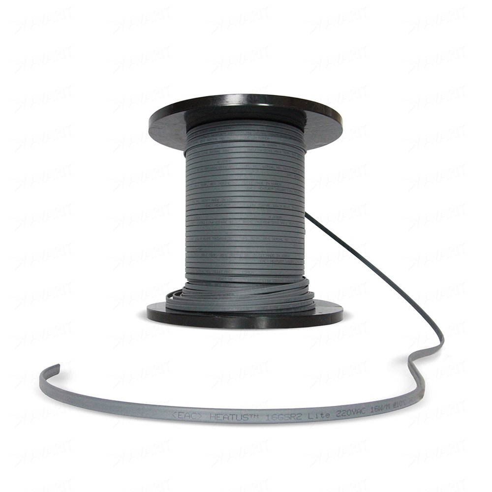 Саморегулирующий греющий кабель Heatus 16GSR2 Lite (16 Вт/м)
