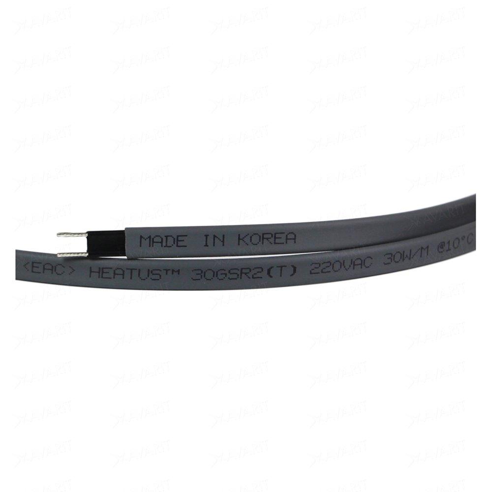 Саморегулирующий греющий кабель Heatus 30GSR2 (30 Вт/м)