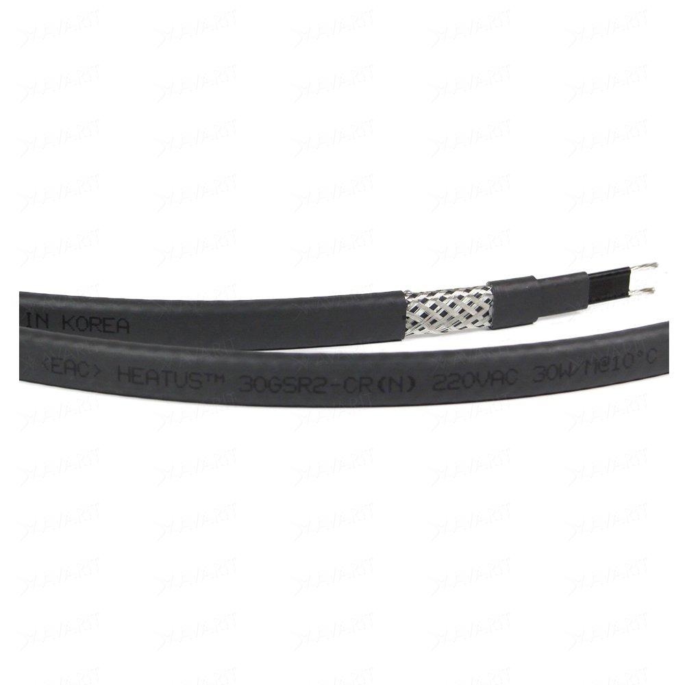 Саморегулирующий греющий кабель Heatus 30GSR2-CR (30 Вт/м)