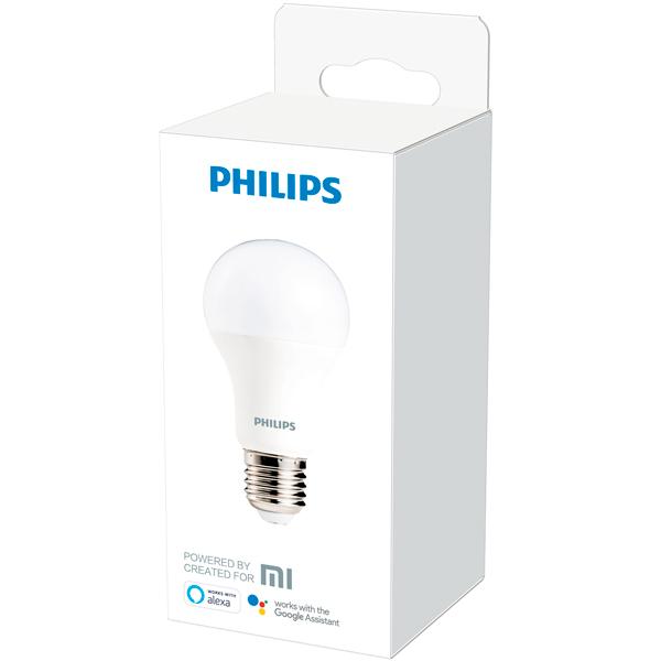 Умная светодиодная лампа Philips Wi-Fi bulb E27 White