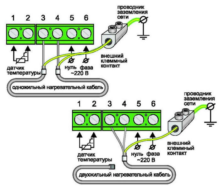 Терморегулятор - ТЕПЛОЛЮКС 520 (16 А, 3,5 кВт)