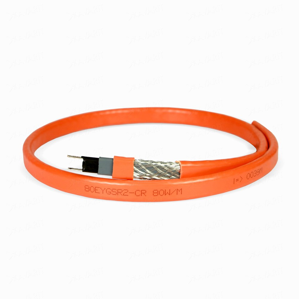 Саморегулирующий греющий кабель Heatus 80EYGSR2-CR (80 Вт/м)