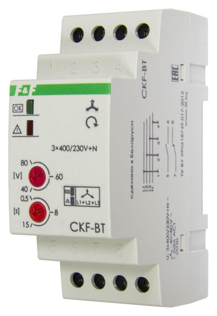 Реле контроля фаз CKF-BT