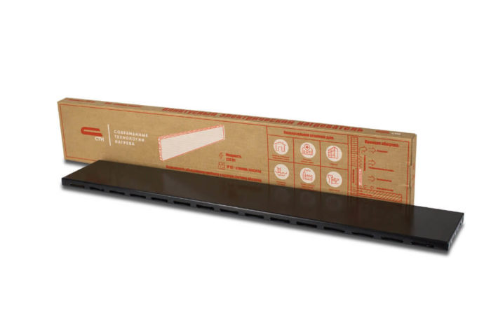 Плинтусный конвектор СТН Р-1 без терморегулятора