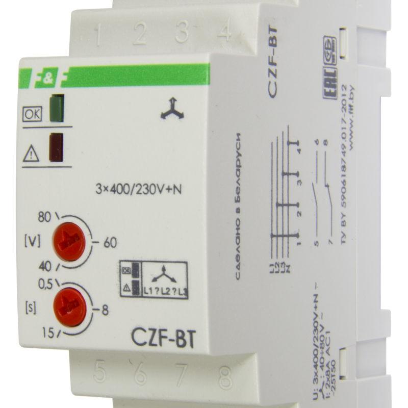Реле контроля фаз CZF-BT
