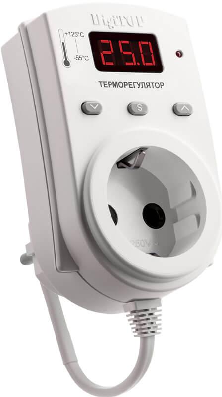 Терморегулятор DigiTOP ТР-1 (16 А, 3 Вт)