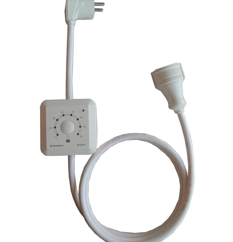 Терморегулятор ЭргоЛайт ТР-01 4 (16 А, 3,5 кВт)