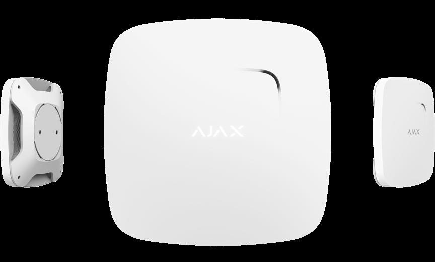 Пожарный датчик Ajax FireProtect