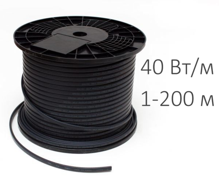 Греющий кабель - GRX 40-2 СR (40 Вт/м)