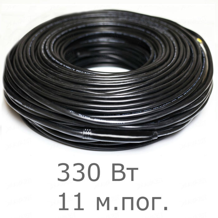 Нагревательный резистивный кабель Heatus Heater source 2230 (330 Вт 11 мп)