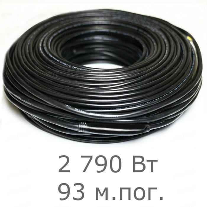Нагревательный резистивный кабель Heatus Heater source 2230 (2790 Вт 93 мп)