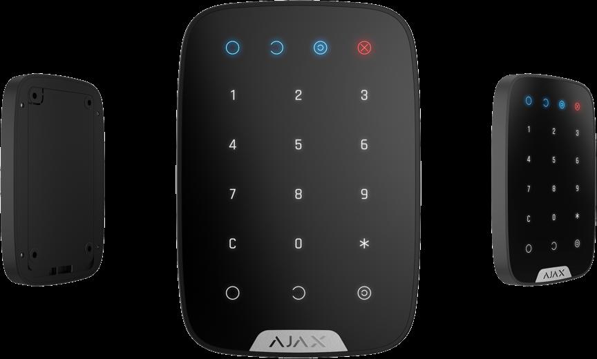 Клавиатура охранной сигнализации Ajax KeyPad