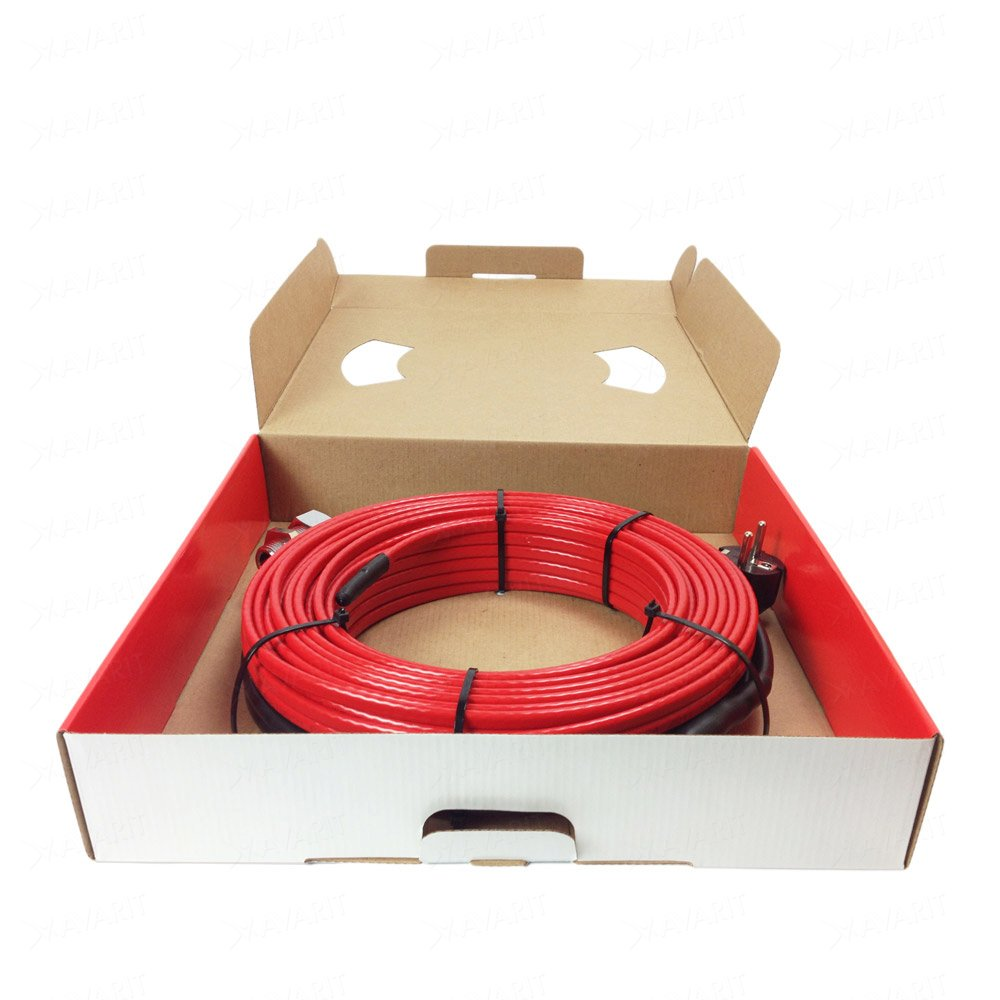 Саморегулирующий греющий кабель Heatus PerfectJet (806 Вт / 62 м)