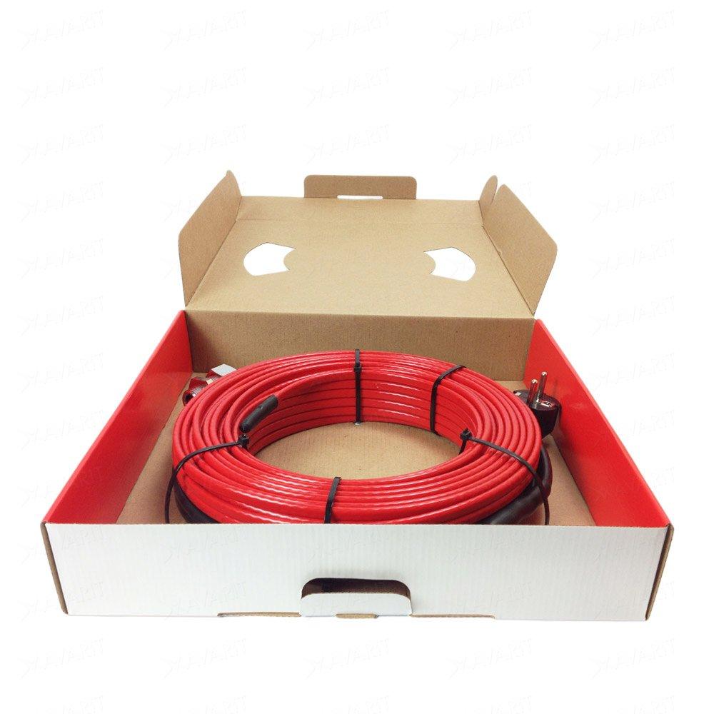 Саморегулирующий греющий кабель Heatus PerfectJet (104 Вт / 8 м)