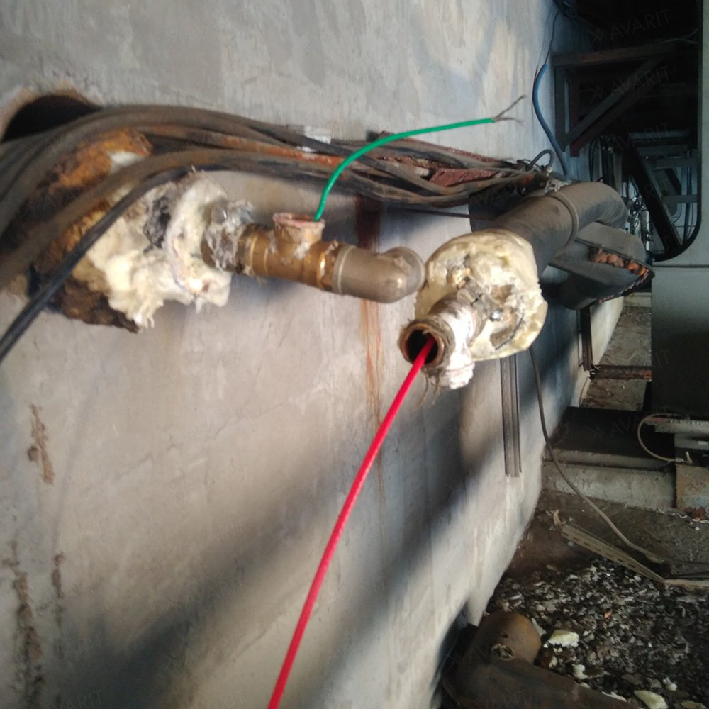 Саморегулирующий греющий кабель Heatus PerfectJet (91 Вт / 7 м)