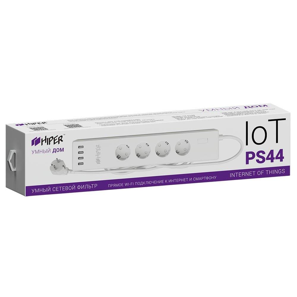 Умный сетевой фильтр HIPER IoT PS44