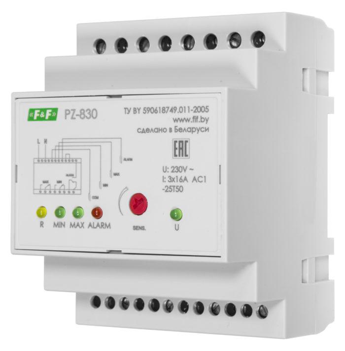 Реле уровня жидкости PZ-830