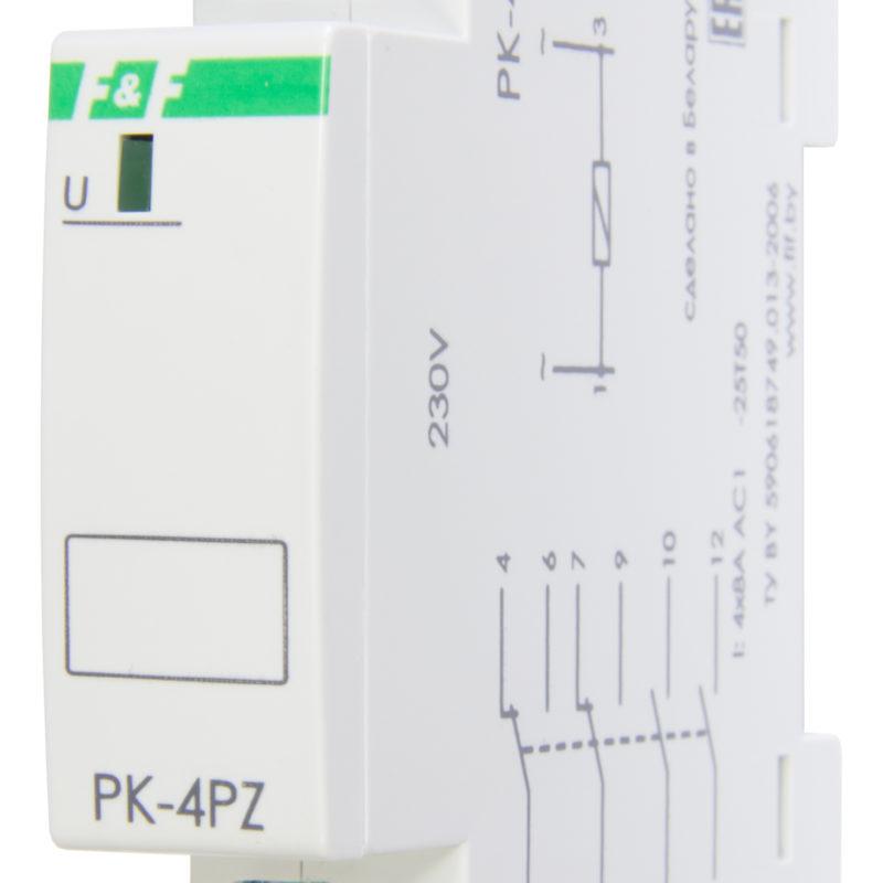 Реле промежуточное PK-4PZ