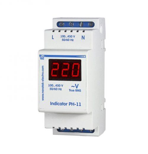 Однофазный цифровой индикатор напряжения РН-11