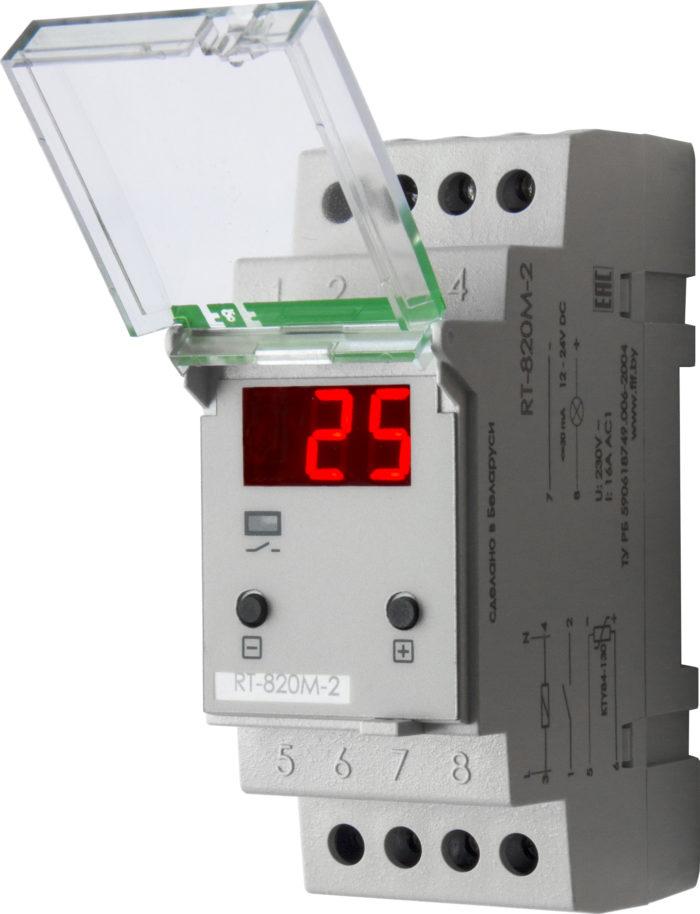 Терморегулятор RT-820M-2 (2 кВт, 16 А)